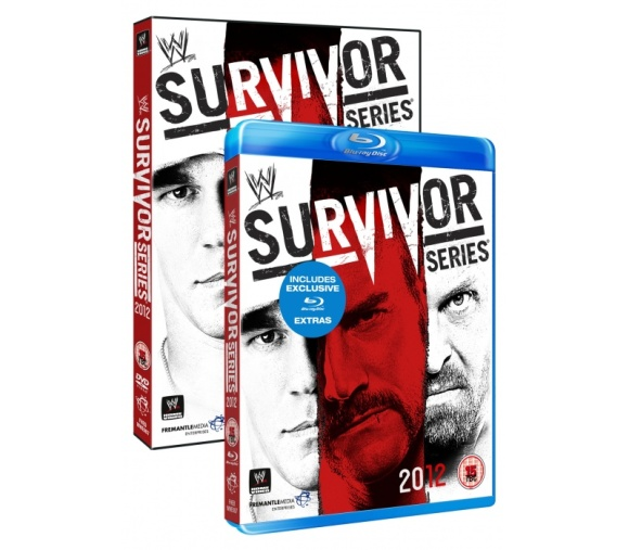 wwe survivor series 2012 DVD review