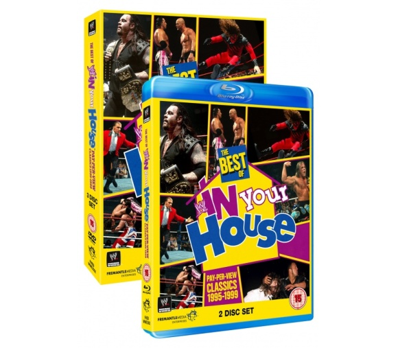 THE BEST OF IN YOUR HOUSE DVD preview