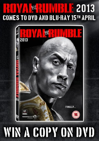royal rumble 2013 dvd